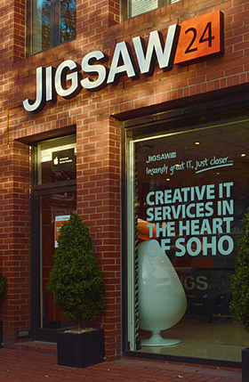 Jigsaw24 London Entrance