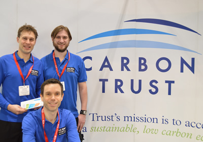 The Carbon Trust Stand at Ecobuild 2014